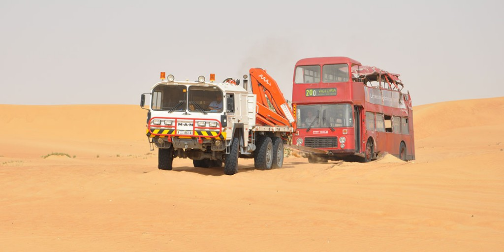 Desert Car Recovery & Car Towing Service in Dubai