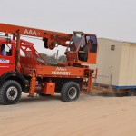 MERCEDES 1928, 4X4 TRUCK CRANE (5 TON). DESERT RECOVERIES/DELIVERIES AND GENERAL WORK