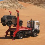 MAN SKIP TRUCK, 4x4 DESERT AND ROAD RECOVERY