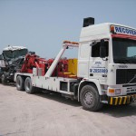 VOLVO, F12, 6X4. VERY HEAVY UNDERLIFT, TWIN 20 TON WINCHES. LIFT AND TOW CONCRETE PUMPS AND MIXERS