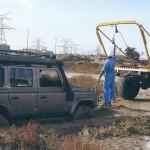 UNIMOG 1300, DESERT AND BEACH RECOVERY