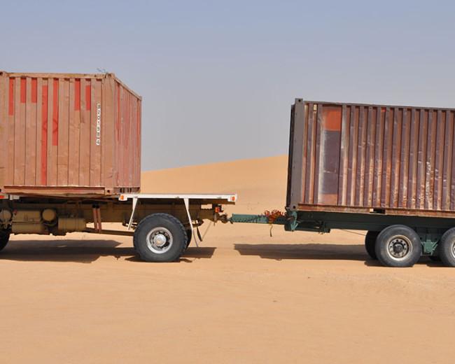 Mercedes 4×4 Desert Truck